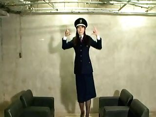 Dancing Stewardess