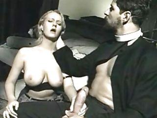 Wicked Italian Priest & A Teenie Ash-blonde Hair Female