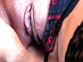 Spicy Old Latina Loves To Think Of You As She Plays With Her...