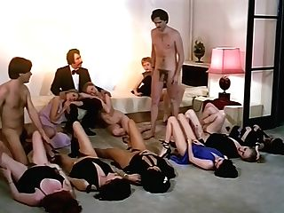 Antique Romp Orgy Activity With Horny Company Of Dolls