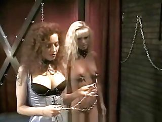 Steaming Hot Threesome With Two Lusty Harlots In The Playroom