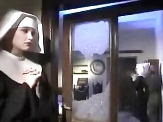 Nun Fucks The Bedpost In The Bootie