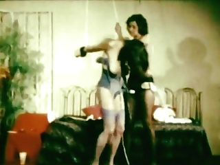 Antique Bondage & Discipline Catfight
